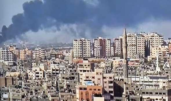 لبنان اليوم - تضرر مدارس جراء القصف الإسرائيلي المتواصل على غزة