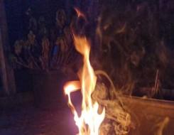لبنان اليوم - حريق في برقايل والاهالي يناشدون الدفاع المدني اللبناني التدخل